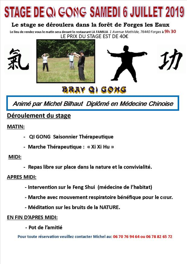 Stage qi gong 2021